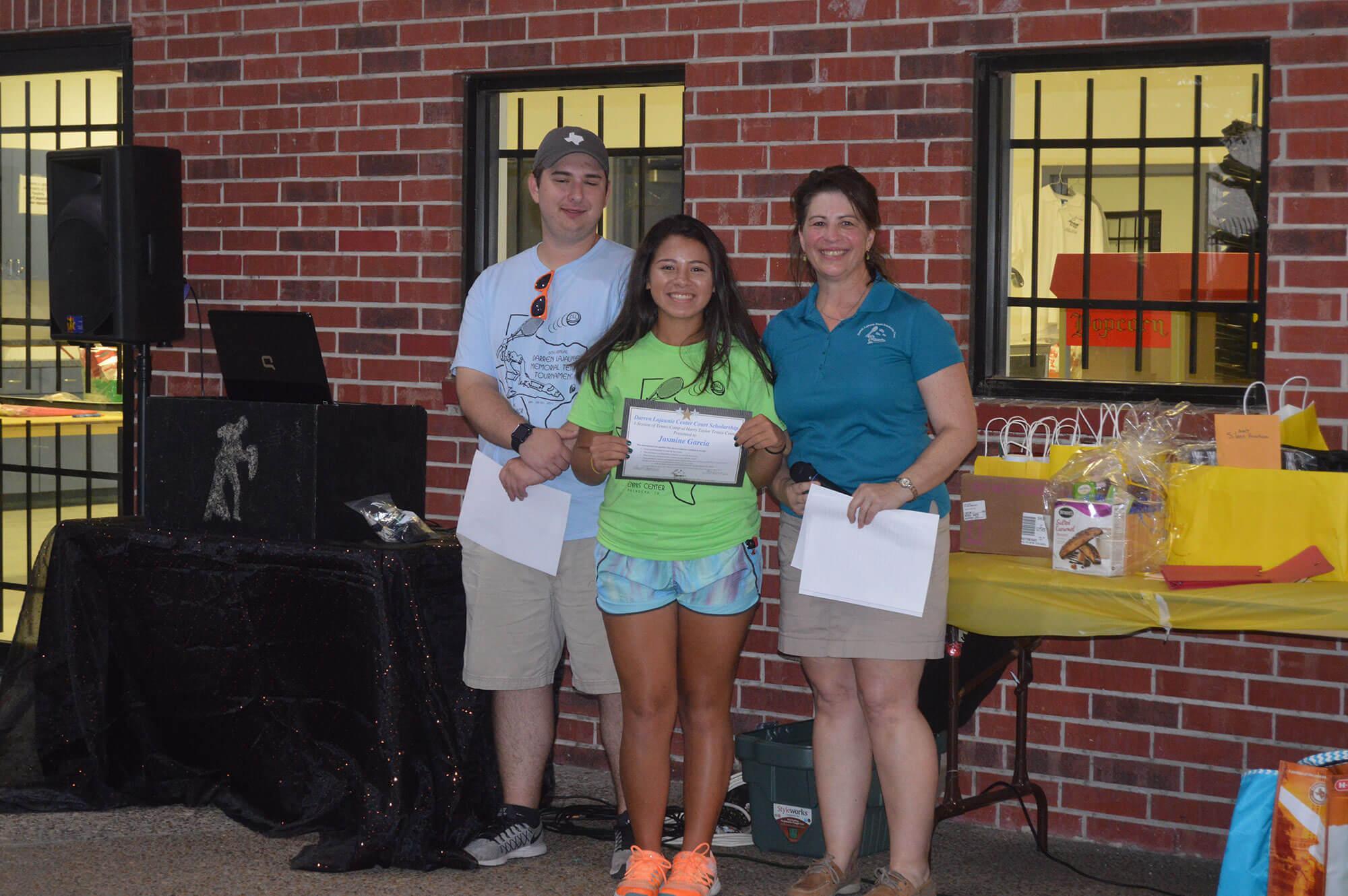 Darren Lajaunie Tennis Scholarships